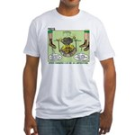 Cajun Cooking Fitted T-Shirt