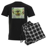 Cajun Cooking Men's Dark Pajamas