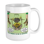Cajun Cooking Large Mug