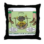 Cajun Cooking Throw Pillow