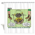 Cajun Cooking Shower Curtain