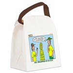 Climbing Knots Canvas Lunch Bag