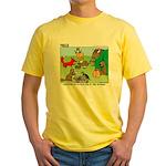 Woodland Critters Yellow T-Shirt