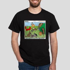 Woodland Critters Dark T-Shirt