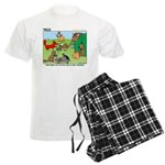 Woodland Critters Men's Light Pajamas