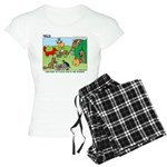 Woodland Critters Women's Light Pajamas