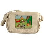 Woodland Critters Messenger Bag