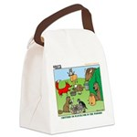 Woodland Critters Canvas Lunch Bag