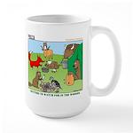 Woodland Critters Large Mug