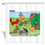Woodland Critters Shower Curtain