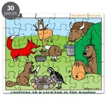 Woodland Critters Puzzle