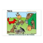 Woodland Critters Postcards (Package of 8)