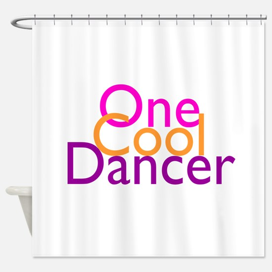 One Cool Dancer Shower Curtain