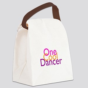 One Cool Dancer Canvas Lunch Bag