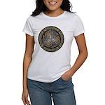 Bejeweled Celtic Shield Women's T-Shirt