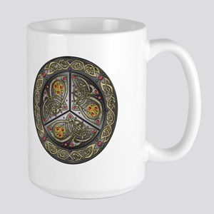 Bejeweled Celtic Shield Large Mug