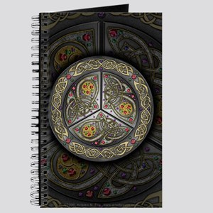 Bejeweled Celtic Shield Journal