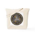 Bejeweled Celtic Shield Tote Bag