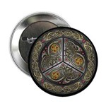 Bejeweled Celtic Shield Button