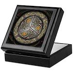 Bejeweled Celtic Shield Keepsake Box