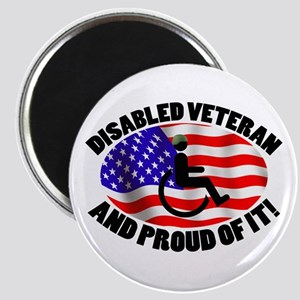 Proud Disabled Veteran Magnet