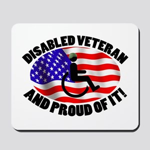 Proud Disabled Veteran Mousepad