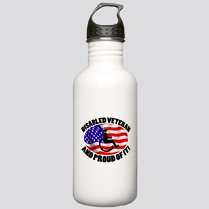 Proud Disabled Veteran Stainless Water Bottle 1.0L