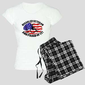 Proud Disabled Veteran Women's Light Pajamas