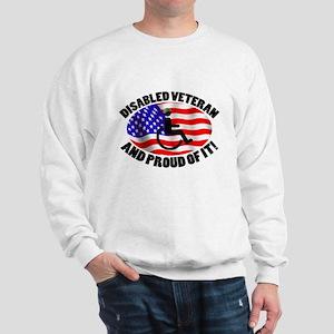 Proud Disabled Veteran Sweatshirt