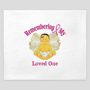 Remembrance Angel King Duvet