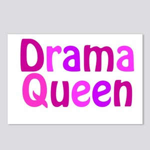 Drama Queen Postcards (Package of 8)