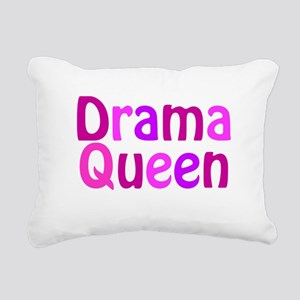 Drama Queen Rectangular Canvas Pillow