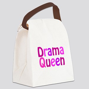 Drama Queen Canvas Lunch Bag