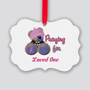 Teddy Bear Prayers Picture Ornament