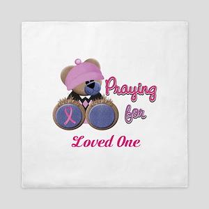 Teddy Bear Prayers Queen Duvet