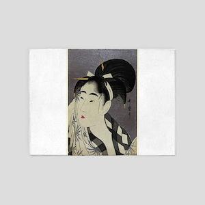 Woman Wiping Sweat - Utamaro Kitagawa - 1798 5