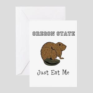 OSU Beavers Greeting Card