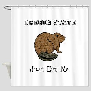OSU Beavers Shower Curtain