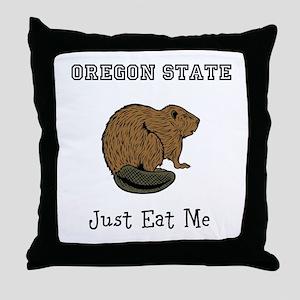 OSU Beavers Throw Pillow