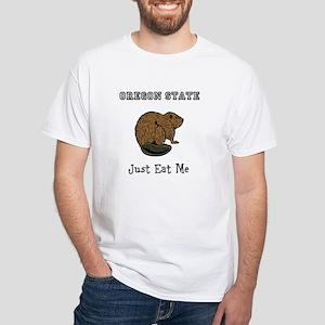 OSU Beavers White T-Shirt