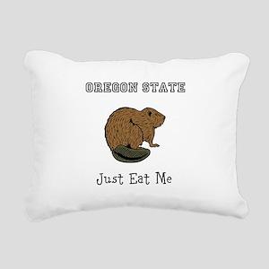 OSU Beavers Rectangular Canvas Pillow