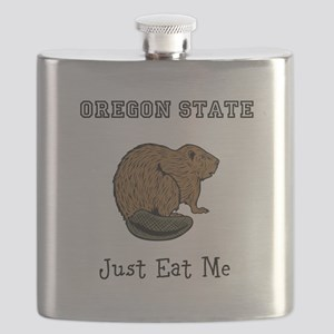 OSU Beavers Flask