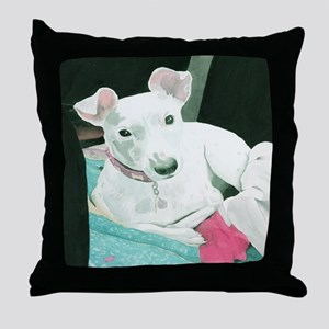 Jack Russell Terrier Sully Throw Pillow