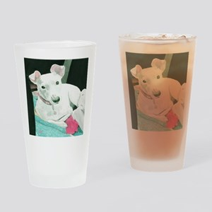 Jack Russell Terrier Sully Drinking Glass