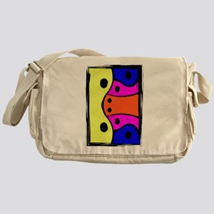 Bright Multi colored Abstract design v4 Messenger