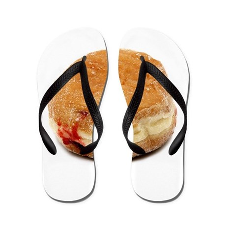 Jelly Doughnut Flip Flops