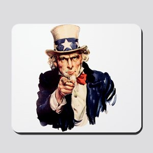 uncle sam pointing Mousepad