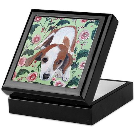 """Beagle"" Keepsake Box"