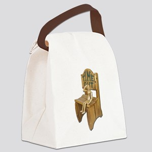 Sitting Timeout Chair Canvas Lunch Bag
