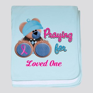 Teddy Bear Prayers baby blanket